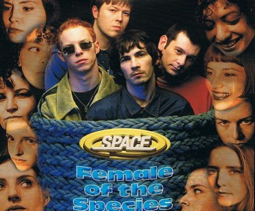 SPACE Female Of The Species CD Single Gut 1996